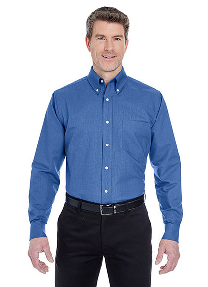 Men Classic Wrinkle-Free Long-Sleeve Oxford