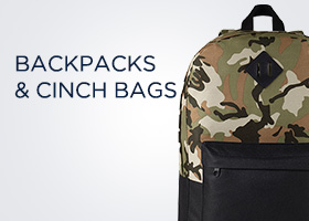Backpacks & Cinch Bags