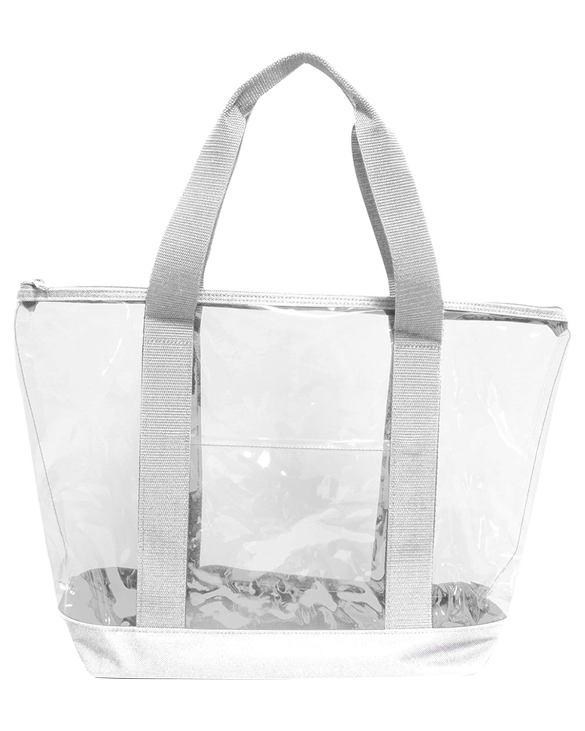 UltraClub 7012 Unisex Game Day Clear Tote Clear at GotApparel