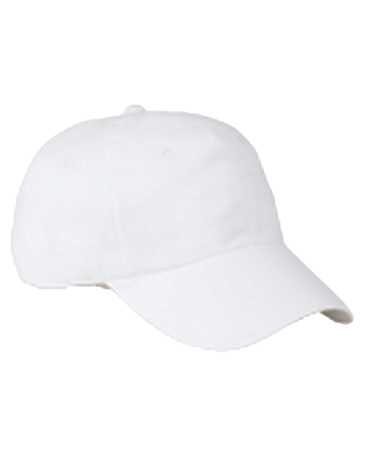 Big Accessories / BAGedge BX005 Unisex 6Panel Washed Twill Low-Profile Cap White at GotApparel
