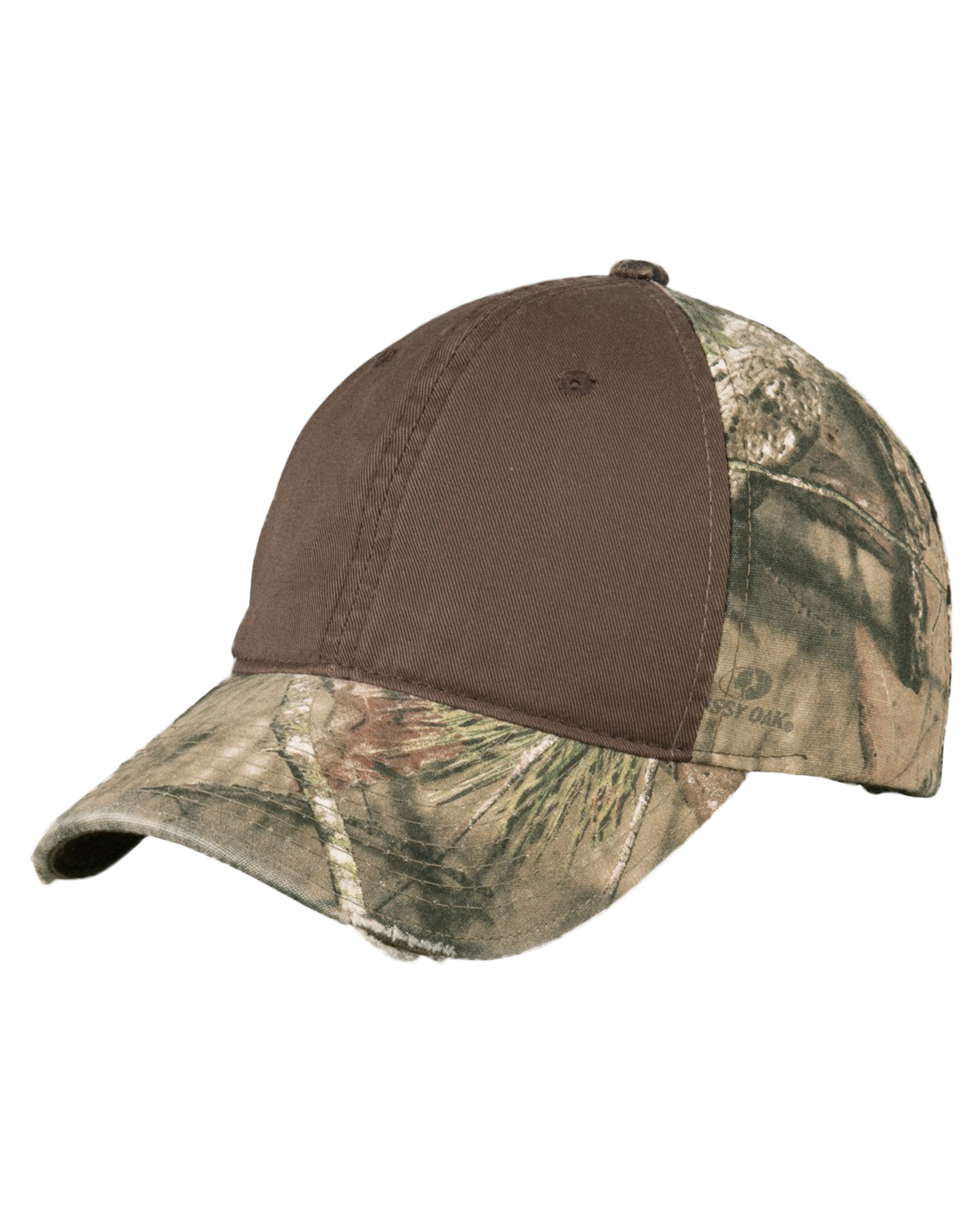 Port Authority C807 Unisex Camo Cap with Contrast Front Panel Mossy Oak Break-UP INFINITY at GotApparel