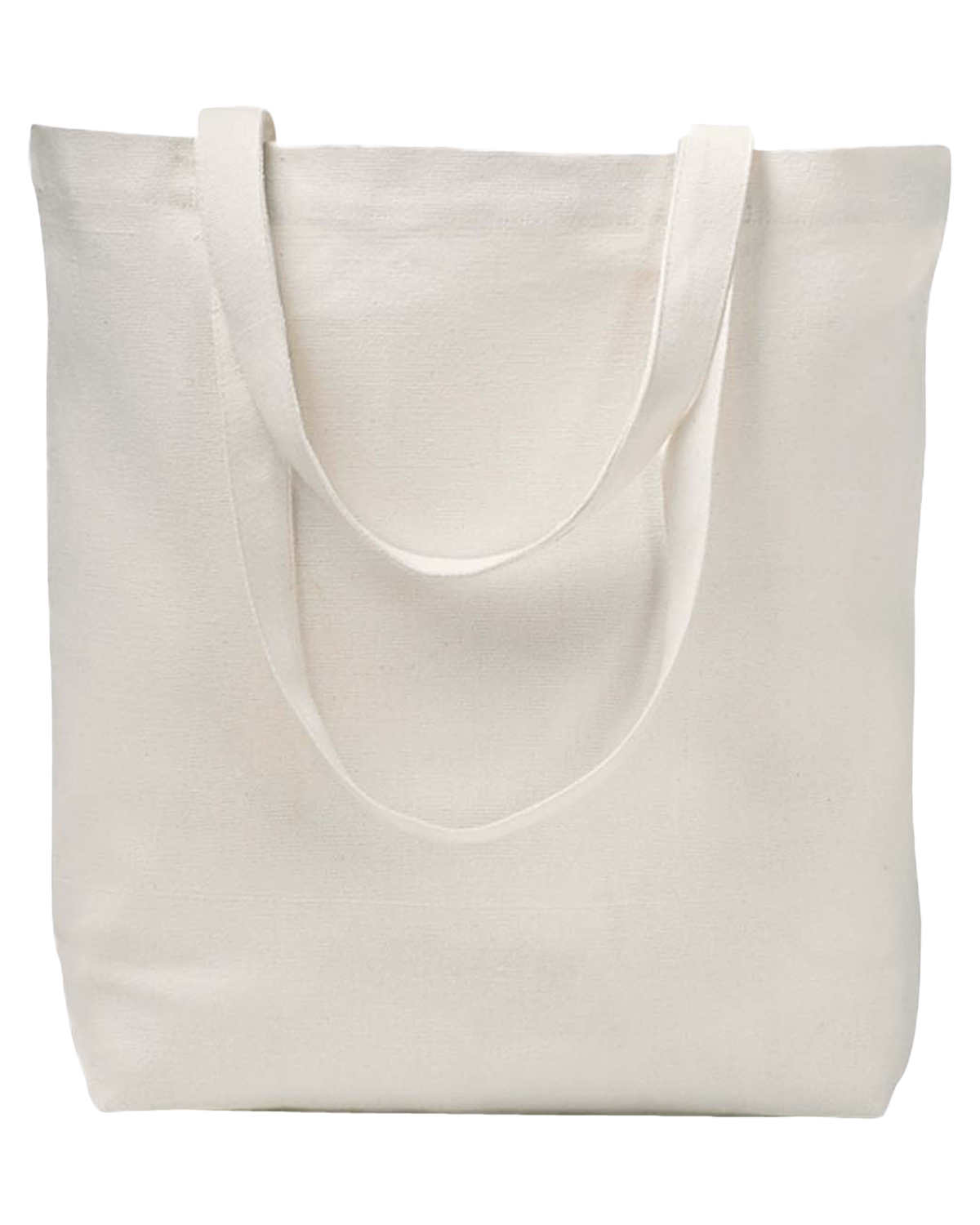 Econscious EC8005 7 oz. Recycled Cotton Everyday Tote Natural at GotApparel
