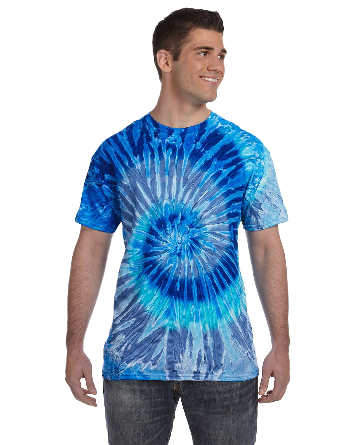 Tie Dye Cd100 100 Cotton T Shirt