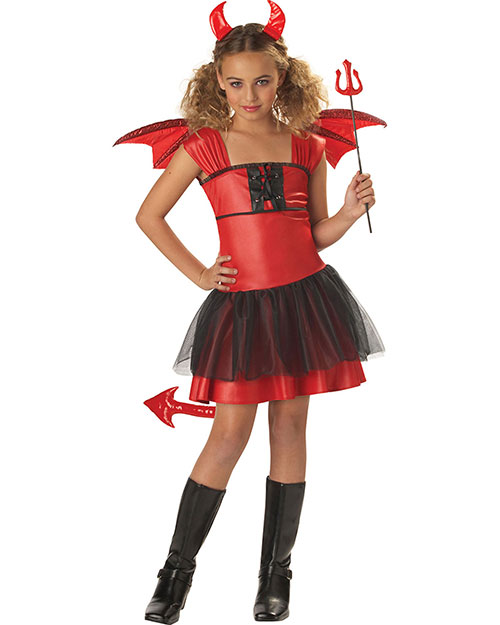 California Costumes 00235 Girls Devil Darling / Child at GotApparel