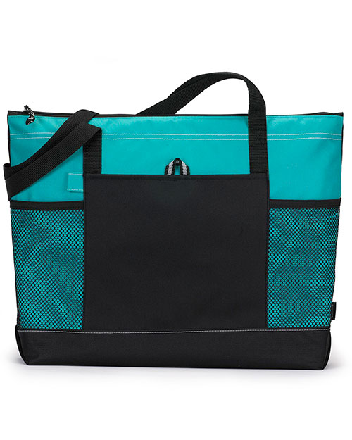 Gemline 1100 Unisex Select Zippered Tote at GotApparel