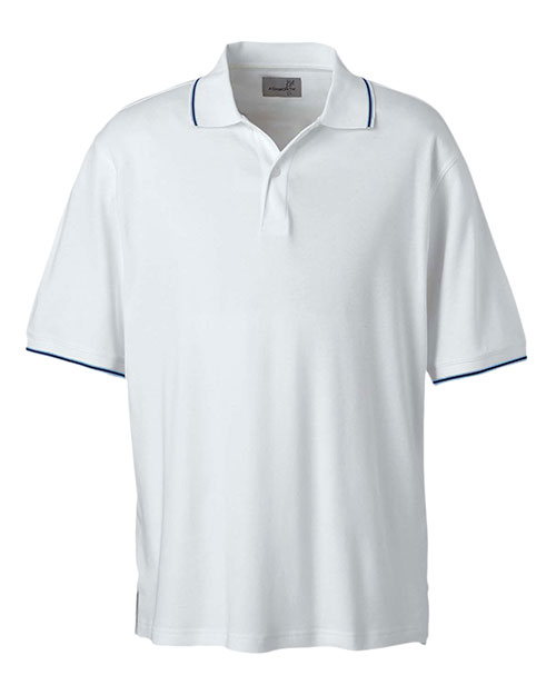 Ashworth 1114C Men Performance Wicking Blend Polo at GotApparel