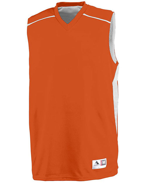 Augusta 1170 Men Sleeveless Slam Dunk Basketball V-Neck Jersey at GotApparel