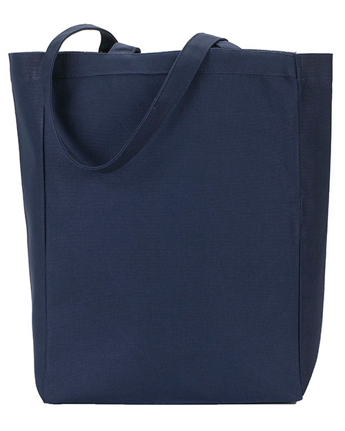 Gemline 117 All-Purpose Tote Navy at GotApparel