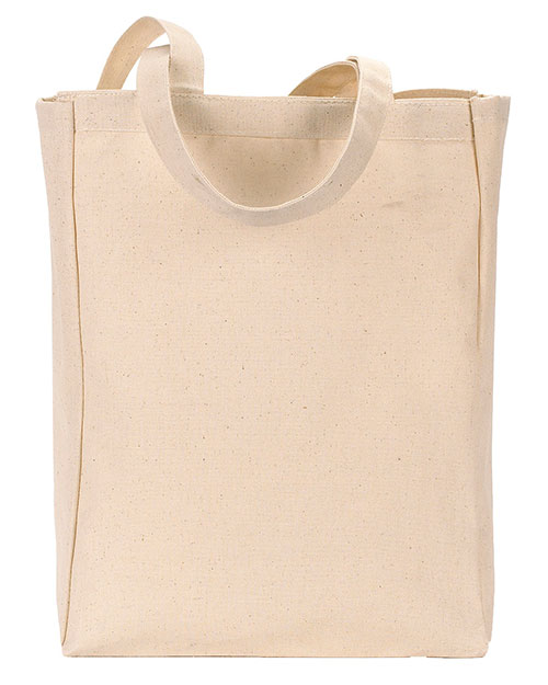 Gemline 120 All-Purpose Tote Natural at GotApparel