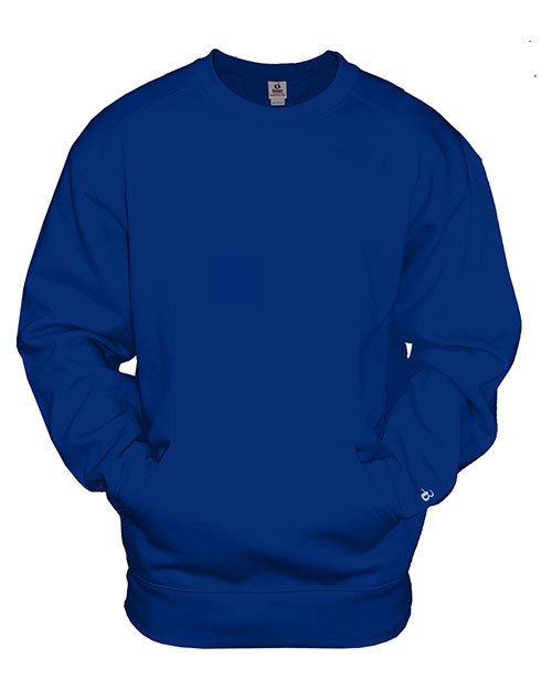 Badger 1252 Men Athletic Fleece Pocket Crew at GotApparel