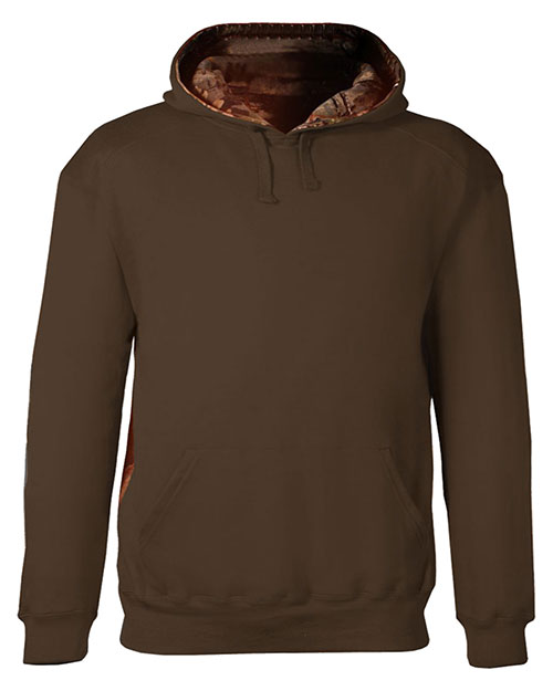 Badger 1264 Men Fleece Hood Sweatshirt at GotApparel