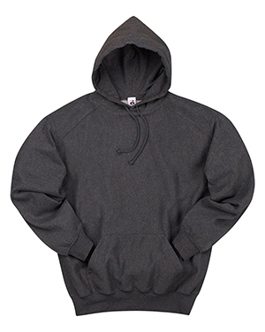 Badger 1354  Heavyweight Hooded Sweatshirt Charcoal at GotApparel