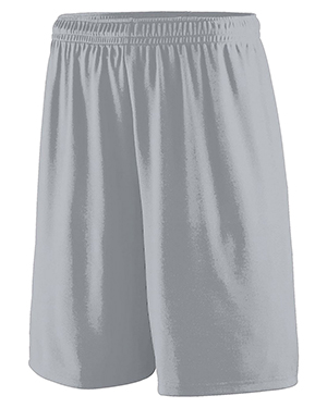 Augusta Drop Ship 1420 Men's Training Short Silver Grey at GotApparel