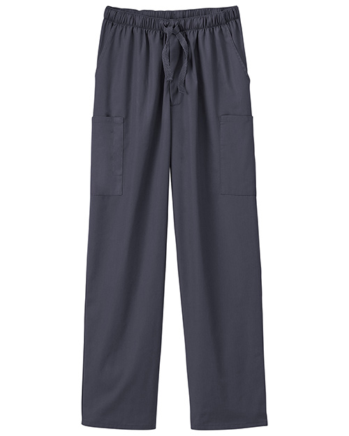 White Swan Brands 14843  Five Pocket Pant.  18 Leg Opening. Inseam 30.5.  Full Drawstring Waist.  Back Elastic.  5 Pockets - 2 Cargo ,  Front Hip  And 1   Pocket. at GotApparel