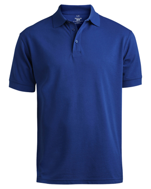 Edwards 1500 Men Short-Sleeve Pique Polo Shirt at GotApparel