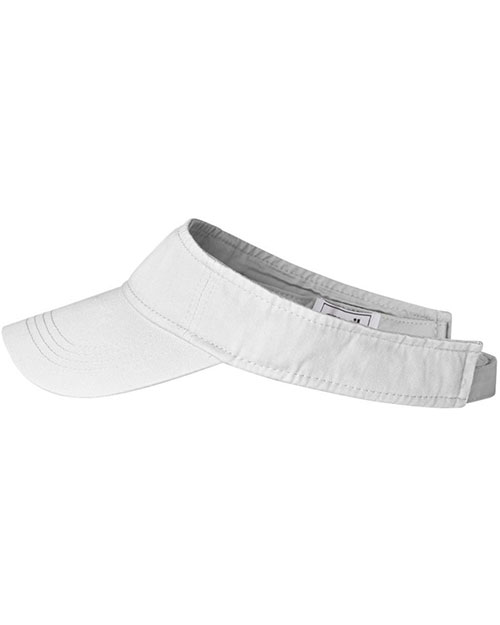 Anvil 158 Unisex Solid Lowprofile Twill Visor at GotApparel