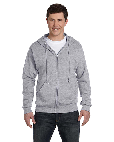 Fruit of the Loom 16230R  Full-Zip Hooded Sweatshirt ATHLETIC HEATHER at GotApparel