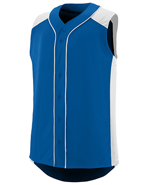 Augusta 1662 Men Sleeveless Slugger Baseball Jersey at GotApparel