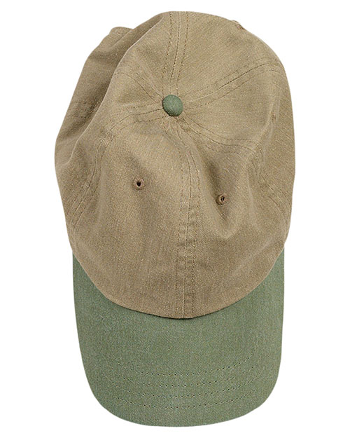 Authentic Pigment 1910 Unisex Pigment-Dyed Baseball Cap at GotApparel