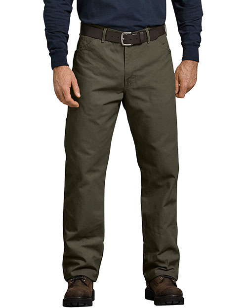 Dickies 1939R Unisex Relaxed Fit Straight Leg Carpenter Duck Jean Pant at GotApparel