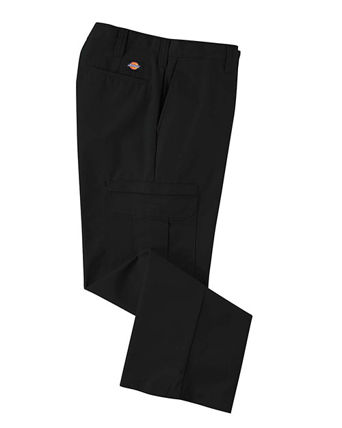 Dickies 2112372 Men 7.75 oz. Premium Industrial Cargo Pant Black 32 at GotApparel