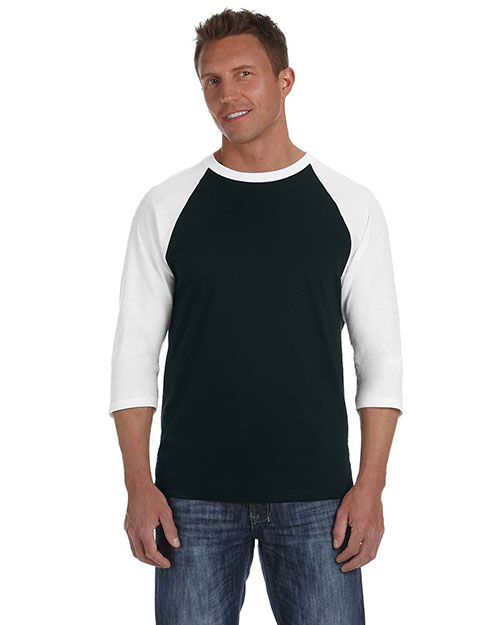 Anvil 2184 Men Heavyweight Raglan T at GotApparel