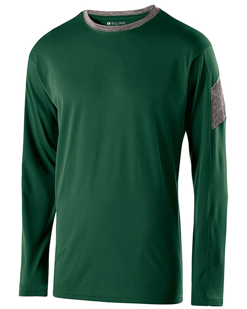 Holloway 222527  Polyester Long Sleeve Electron Shirt at GotApparel