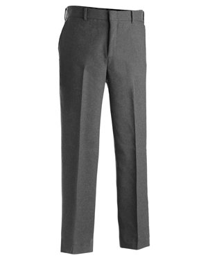 Edwards 2290 Men Flat Front Polyester Pant at GotApparel