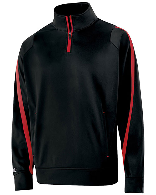 Holloway 229292 Boys Polyester 1/4 Zip Determination Pullover at GotApparel