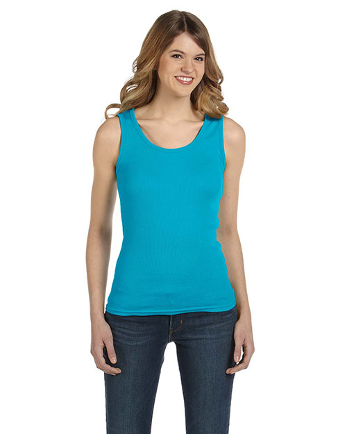 Anvil 2415 Women 1x1 Baby Rib Tank at GotApparel