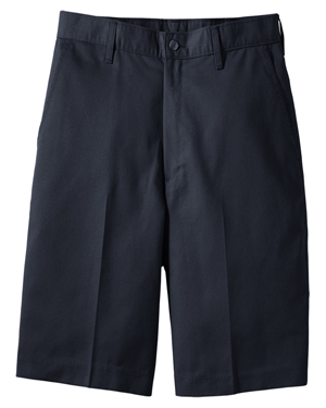 Edwards 2460 Men Flat Front Casual Chino Short at GotApparel