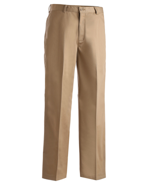 Edwards 2577 Men Utility Flat Front Chino Pant at GotApparel