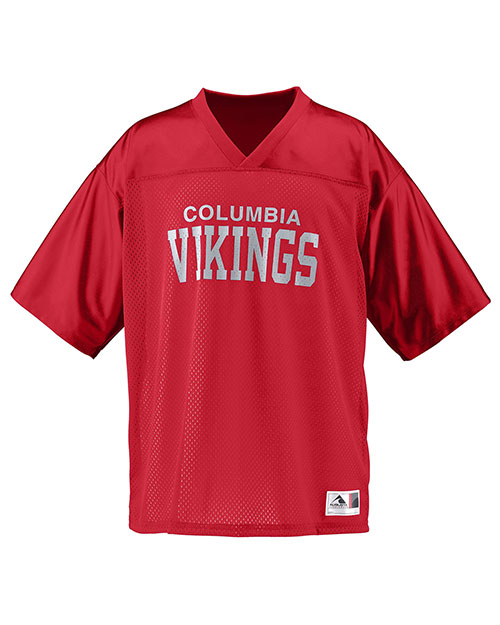 Augusta 258 Boys Stadium Replica Mesh Football Jersey at GotApparel