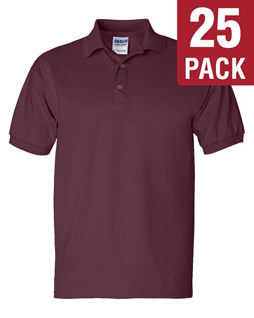 Gildan G280 Men Ultra Cotton 6 Oz. Jersey Polo 25-Pack at GotApparel
