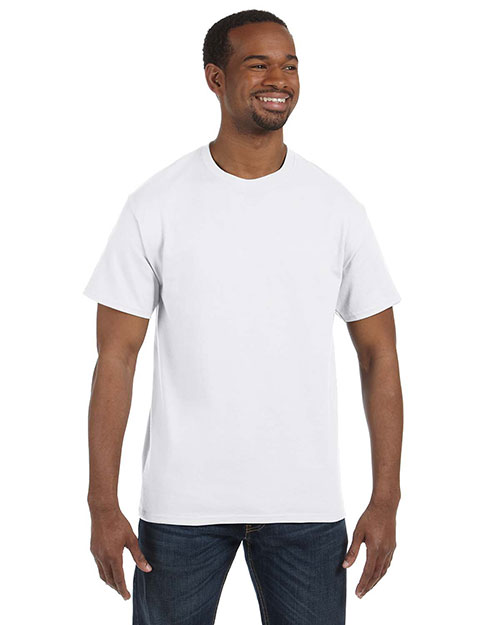 Jerzees 29M Men 5.6 oz., 50/50 Heavyweight Blend™ TShirt White at GotApparel