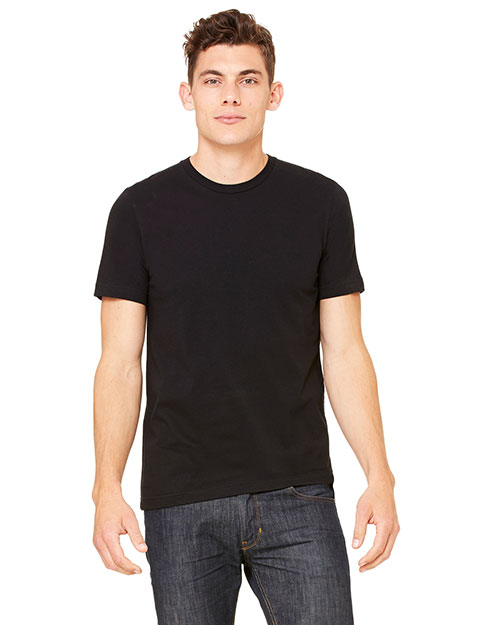 Bella + Canvas 3001C Unisex Jersey Short-Sleeve Tee Black at GotApparel