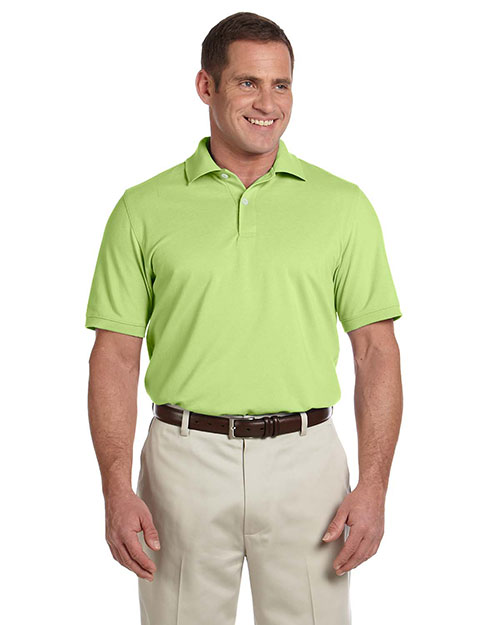 Ashworth 3028C Men Combed Cotton Pique Polo Bamboo at GotApparel