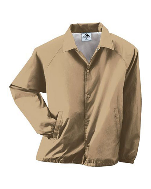 Augusta 3100 Men Lined Nylon Coachs Jacket at GotApparel