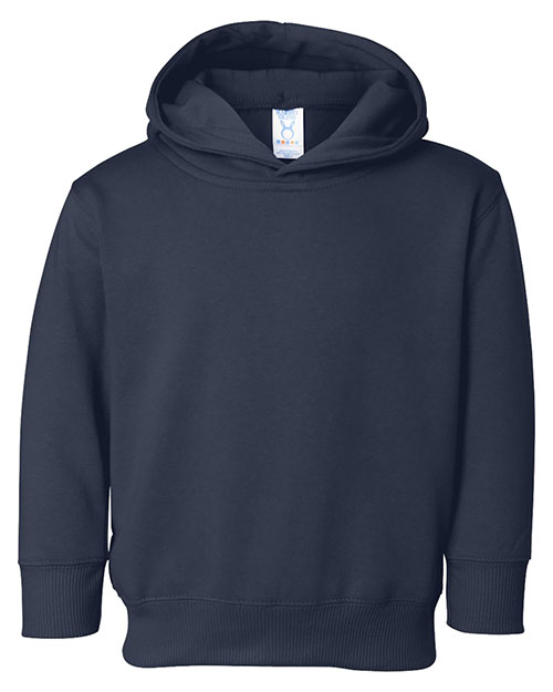 Rabbit Skins 3326 Toddlers Pullover Hoody Navy at GotApparel
