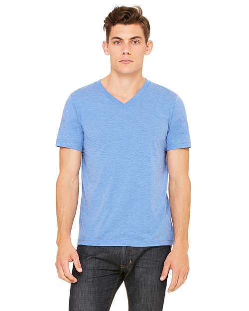 Bella + Canvas 3415C Unisex Tri-Blend Short-Sleeve V-Neck Tee at GotApparel