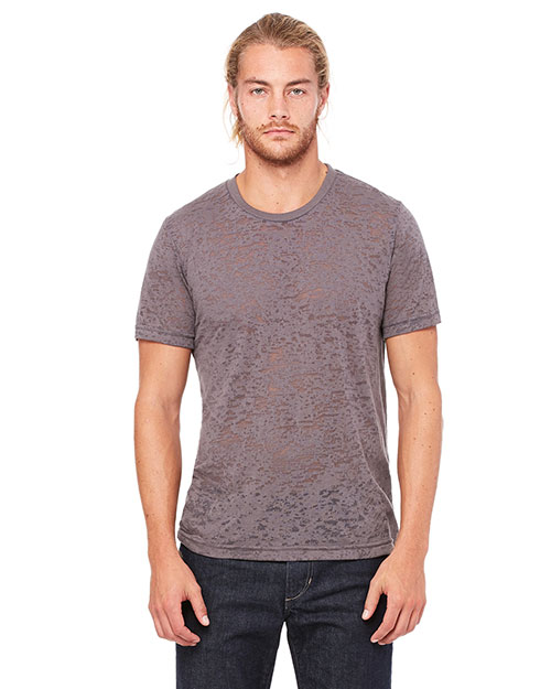 Bella + Canvas 3601  Burnout ShortSleeve TShirt Asphalt at GotApparel