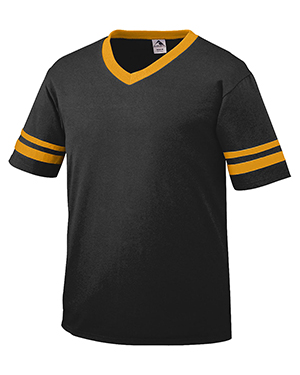 Augusta 361 Boys Sleeve Stripe Jersey at GotApparel