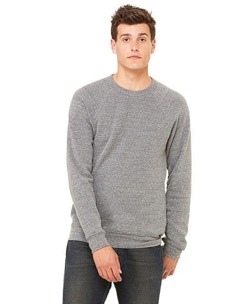Canvas 3901  Unisex Triblend Sponge Fleece Pullover GREY TRIBLEND at GotApparel