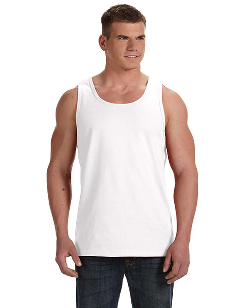 Fruit of the Loom 39TKR Adult 5 oz., 100% Heavy Cotton HD Tank White at GotApparel