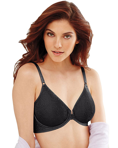 Bali 3P66 Women Comfort Revolution Front Close Underwire Bra at GotApparel