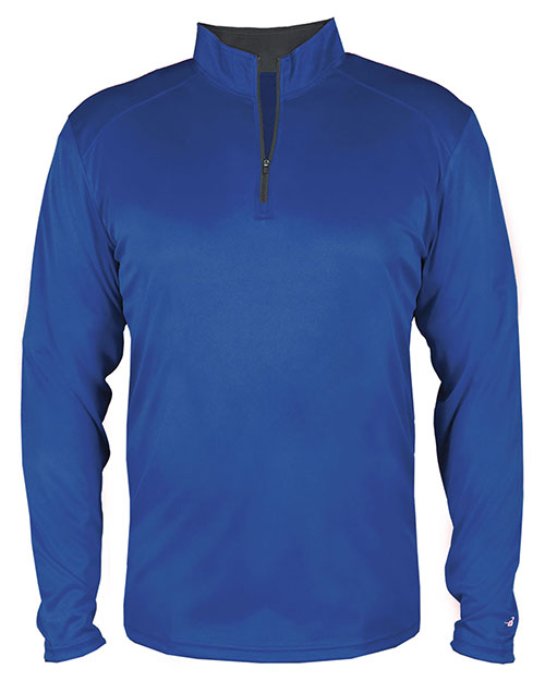 Badger 4102 Men B-Core Quarter-Zip Pullover at GotApparel