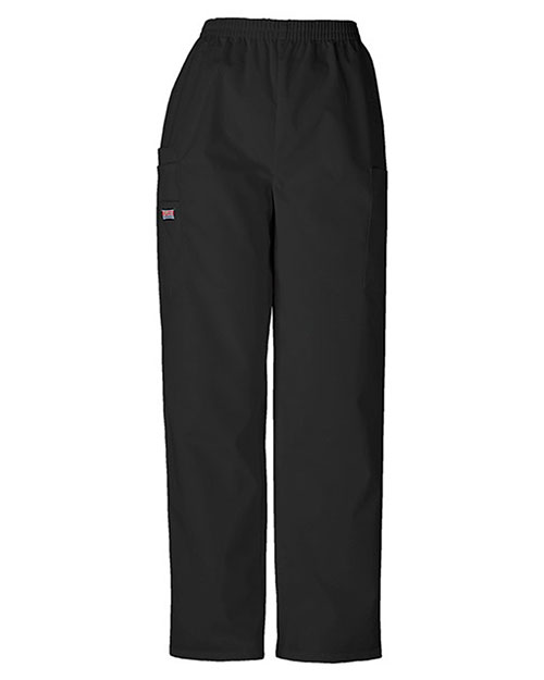 Cherokee Workwear 4200P Women Natural Rise Tapered Pull-On Cargo Pant at GotApparel