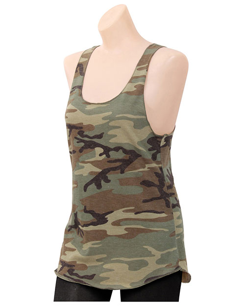 Rothco 44670 Women Womens Camo Racerback Tank Top As Shown at GotApparel