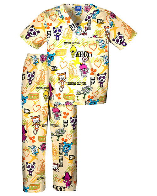 Scrub HQ 4620C Boys Set at GotApparel