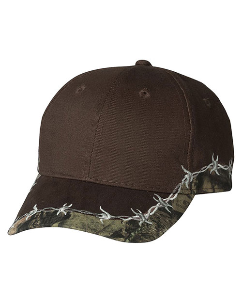 Outdoor Cap BRB605 Unisex Barbed Wire Camo Cap at GotApparel
